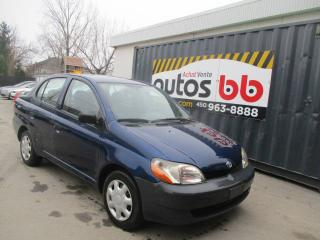 Used 2002 Toyota Echo for sale in Laval, QC