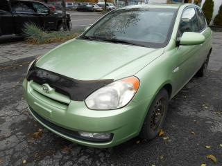 Used 2007 Hyundai Accent GLS ** A/C, TOIT MAG, BAS KM, WOW A VOIR for sale in Montréal, QC