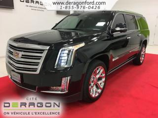 Used 2016 Cadillac Escalade Platinum Privilege for sale in Cowansville, QC