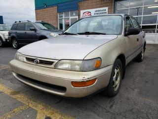 Used 1996 Toyota Corolla for sale in St-Eustache, QC