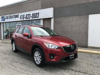 Used 2013 Mazda CX-5 GS-NAVI-SUNROOF for sale in Toronto, ON