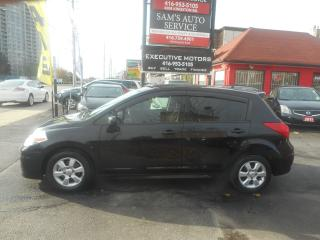 Used 2010 Nissan Versa 1.8 SL / SUNROOF / ALLOYS / BLUETOOTH / LOW KMS for sale in Scarborough, ON