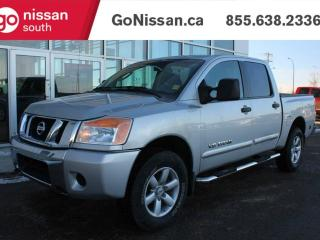 Used 2011 Nissan Titan SV 4x4 Crew Cab 139.8 in. WB for sale in Edmonton, AB