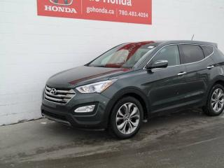 Used 2013 Hyundai Santa Fe LUXURY, LEATHER, AWD for sale in Edmonton, AB