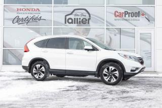 Used 2015 Honda CR-V Touring AWD for sale in Québec, QC