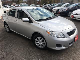 Used 2009 Toyota Corolla CE/ AUTO/ POWER GROUP/ LOADED! for sale in Scarborough, ON
