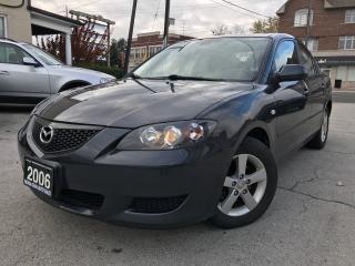Used 2006 Mazda MAZDA3 GS for sale in Burlington, ON