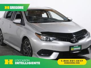 Used 2017 Toyota Corolla iM A/C GR ELECT MAGS for sale in St-Léonard, QC