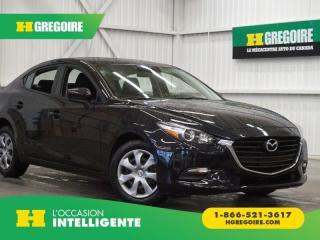 Used 2017 Mazda MAZDA3 GX for sale in St-Léonard, QC