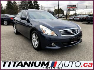 Used 2010 Infiniti G37 Luxury-AWD-GPS-Camera & Sensors-Sunroof-Leather-XM for sale in London, ON