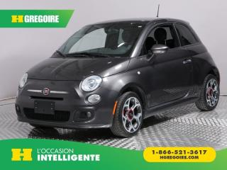 Used 2016 Fiat 500 SPORT CUIR A/C GR for sale in St-Léonard, QC