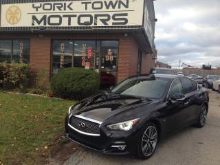 Used 2015 Infiniti Q50 44Km|Limited|Premium|NAV|BackCam|Leather|Sunroof| for sale in North York, ON
