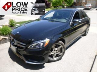Used 2015 Mercedes-Benz C-Class AMGPkg*AWD*Navi*BlindSpot*Panoramic*FullOpti* for sale in Toronto, ON