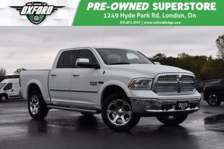 Used 2015 RAM 1500 Laramie - Ecodiesel, Bedliner, Immaculate Conditio for sale in London, ON