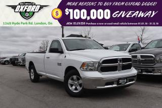 Used 2016 RAM 1500 SLT - 3.6L v6, 8 Speed Auto, 4x2 for sale in London, ON
