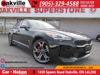 Used 2018 Kia Stinger GT Limited | DEMO NEVER BEEN SOLD | LOADED for sale in Oakville, ON