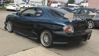 Used 2000 Hyundai Tiburon ONE OF A KIND CAR, MANY MODS, RIMS, SPOILER, CRAZY PAINT JOB for sale in North York, ON