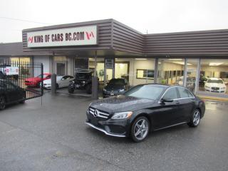 Used 2017 Mercedes-Benz C-Class C300 4MATIC - AMG PACKAGE for sale in Langley, BC