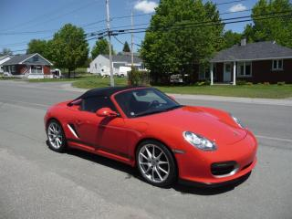 Used 2011 Porsche Boxster SPYDER for sale in Ste-Marie, QC