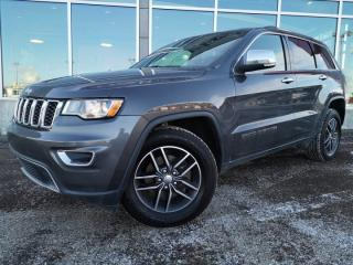 Used 2018 Jeep Grand Cherokee AWD,Limited, Remote Start, Leather, Sunroof, Back Up Camera, Apple Play for sale in Edmonton, AB