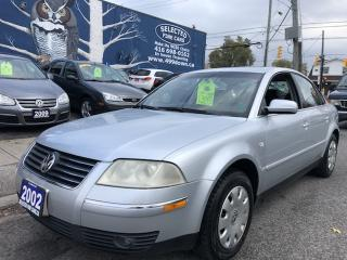 Used 2002 Volkswagen Passat GLX for sale in Toronto, ON