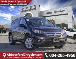 Used 2014 Honda CR-V Touring *ACCIDENT FREE* *LOCALLY DRIVEN* for sale in Abbotsford, BC