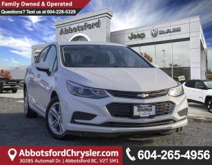 Used 2017 Chevrolet Cruze LT Auto *LOCALLY DRIVEN* for sale in Abbotsford, BC