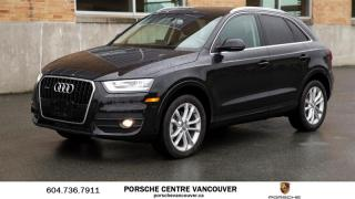 Used 2015 Audi Q3 2.0T Technik quattro 6sp Tiptronic Just arrived, no accident! for sale in Vancouver, BC