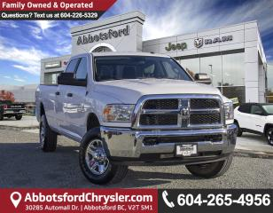 Used 2018 RAM 3500 SLT *ACCIDENT FREE* *LOCALLY DRIVEN* for sale in Abbotsford, BC
