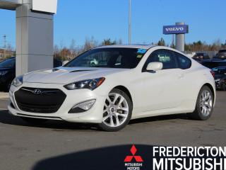 Used 2013 Hyundai Genesis Coupe 2.0T Premium 6-SPEED | HEATED LEATHER | NAV for sale in Fredericton, NB