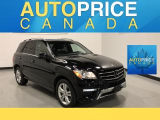 Used 2015 Mercedes-Benz ML-Class BACK UP CAM|PAN ROOF|NAV for sale in Mississauga, ON