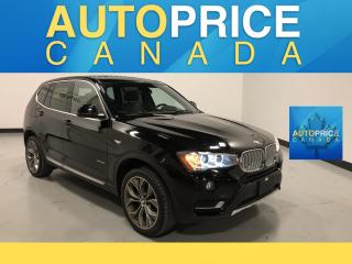 Used 2017 BMW X3 xDrive28i NAVIGATION|PANORAMIC ROOF|CLEAN CARFAX for sale in Mississauga, ON
