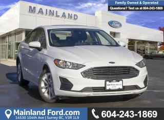 Used 2019 Ford Fusion Hybrid Se for sale in Surrey, BC
