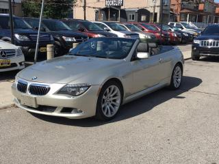 Used 2008 BMW 6 Series 2dr Cabriolet 650i for sale in Scarborough, ON