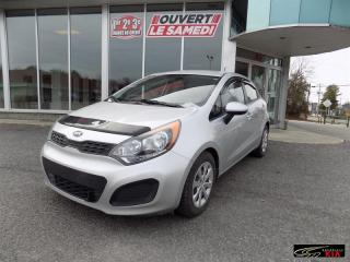 Used 2014 Kia Rio 5DR HB for sale in Grenville, QC