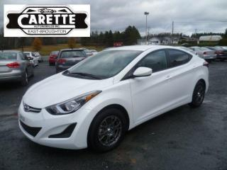 Used 2016 Hyundai Elantra - for sale in East broughton, QC