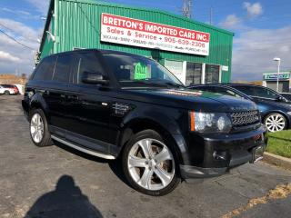 Used 2013 Land Rover Range Rover Sport HSE LUXURY for sale in Burlington, ON