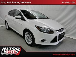 Used 2012 Ford Focus Titanium + Bas Kilo for sale in Sherbrooke, QC