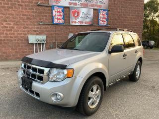 Used 2009 Ford Escape XLT/ONE OWNER/NO ACCIDENT/CERTIFIED/WARRANTY INCL for sale in Cambridge, ON