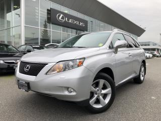 Used 2010 Lexus RX 350 6A Premium Pkg, Excellent Condition for sale in North Vancouver, BC