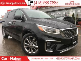 Used 2019 Kia Sedona SXL | $275 BI WEEKLY | TOP LINE | for sale in Georgetown, ON