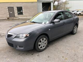 Used 2008 Mazda MAZDA3 with Safety Check for $3250! for sale in Ottawa, ON