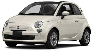 Used 2014 Fiat 500 C Pop for sale in Ottawa, ON