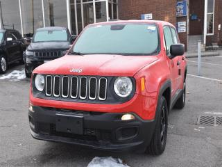 Used 2018 Jeep Renegade Sport 5.0 TOUCHSCREEN/9 SPEED TRANSMISSION for sale in Concord, ON