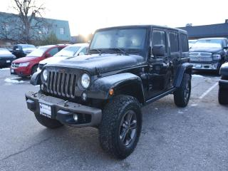 Used 2017 Jeep Wrangler JK Unlimited Sahara 75TH ANNIVERSARY EDITION, LEATHER for sale in Concord, ON
