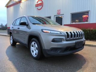 Used 2017 Jeep Cherokee Sport for sale in Tillsonburg, ON