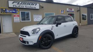 Used 2014 MINI Cooper Countryman S-AWD-PREMIUM & STYLE PACKAGES-BLUETOOTH for sale in Tilbury, ON