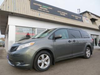 Used 2011 Toyota Sienna CERTIFIED,ALL POWERED,REAR STOW AND GO SEATS for sale in Mississauga, ON