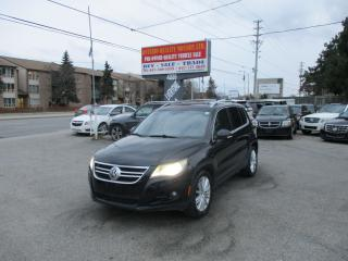 Used 2009 Volkswagen Tiguan Highline for sale in Toronto, ON