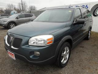 Used 2006 Pontiac Montana Certified w/ 6 Month Warranty for sale in Brantford, ON